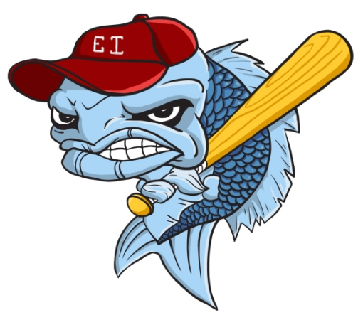 A mascot made for a little league team in New Jersey.  I'll make one for you too...if the price is right.